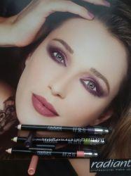 Акция RADIANT Водостойкий мягкий карандаш для глаз