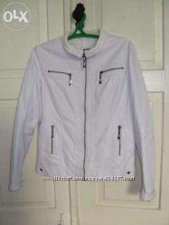 куртка черная белая 48размер