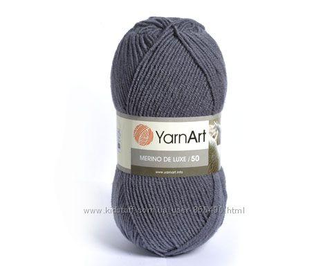 Пряжа, нитки для вязания, полушерсть