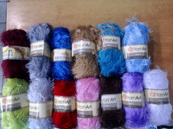 Пряжа, нитки для вязания, травка