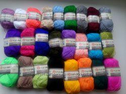 Пряжа, нитки для вязания , Этамин Ярн арт акрил 180м