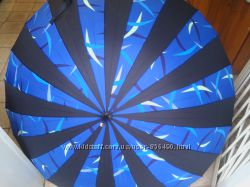 Зонт трось полуавтомат