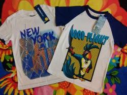 Майки и футболки ГлорияДжинс для мальчика 6-8 лет 122-128 см. Новые