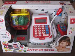 Отличный детский кассовый аппарат. Магазин, супермаркет. Наличие.