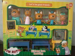 Три кота школа M-8812 . Фигурки, мебель
