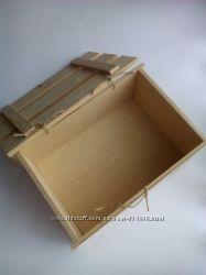 Ящик декоративный для декупажа, для подарков, для мелочей