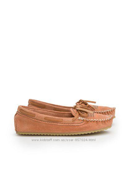 Дитячі замшеві туфлі макасіни Mango р 28 29  туфли макасины