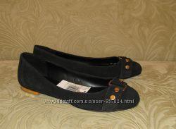 Нові замшеві туфлі MANGO роз 38 39