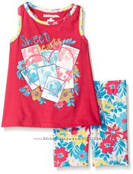 Летние костюмы на девочек 18-24м, 3, 4, 5, 6 лет из США - 10 расцветок