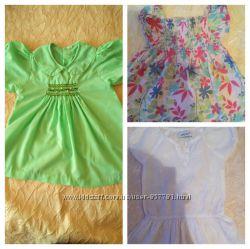 Стильненькі платтячка-сарафанчики для модниці част1 0-6 міс