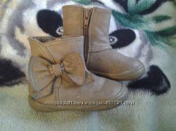 Модні польські сапожки F&F демісезонні 21-22 розмір