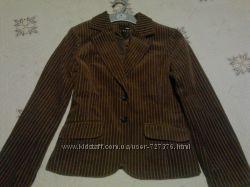 Новый вельветовый пиджак H&M. размер 42 европейский.