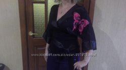 Нарядная блуза ROBERTO CAVALLI размер М оригинал