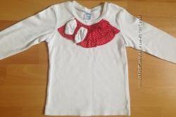 Реглан белый нарядный Kinder на 3-5 лет, 104 размер
