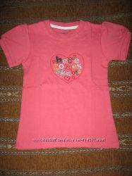 футболки фирмы Jumping beans для девочек от 4 до 7-ми лет