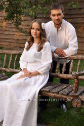 Вышитый комплкет для свадьбы