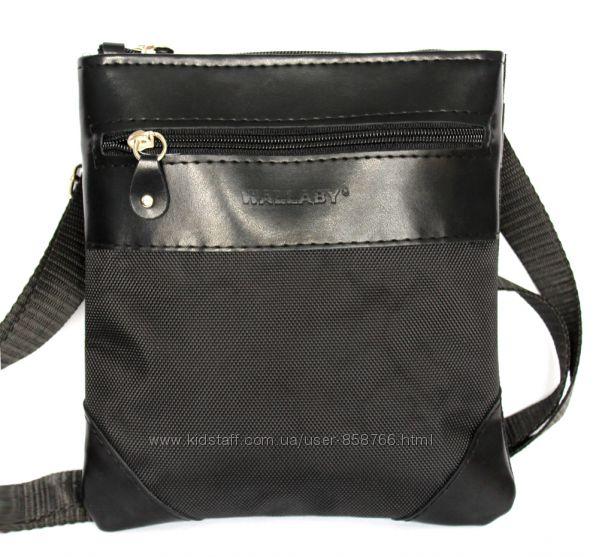 Мужская сумка удобная стильная черная 264 7001be50f1efe