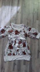 Нарядная блуза, туника  для беременных