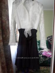 Красивое платье Chanel раз одето