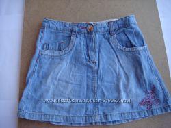 Юбка джинсовая, 5 лет