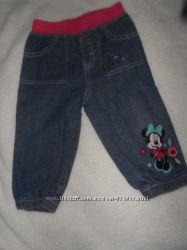 Продам джинсы, штаники на 6-12 мес.
