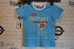 Яркая летняя футболочка ZEPLIN  для мальчика