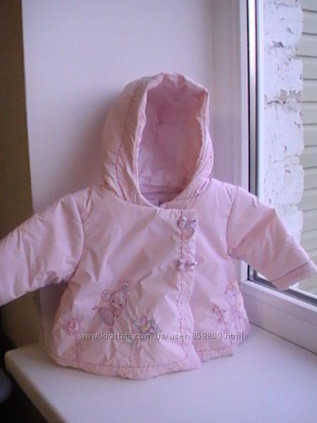 Курточка Next безумно красивая3-6м