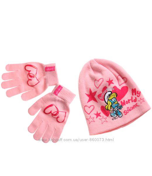 Шапка и перчатки Lamaloli Германия в ассортименте
