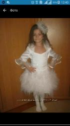 Платье новогоднее нарядное снежинки, снежной феи, королевы, звездочки