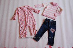 Одяг для дівчинки 80-92 частина 2