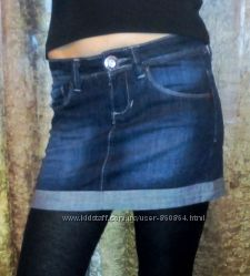 Юбки джинс фирмы Jennyfer
