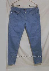 Новые джинсы голубые зауженные стрейч W31 D&G Dolce & Gabbana