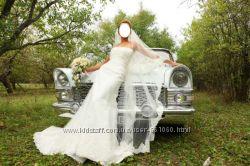 Шикарное свадебное платье из кружева ТМ Bertha Англия