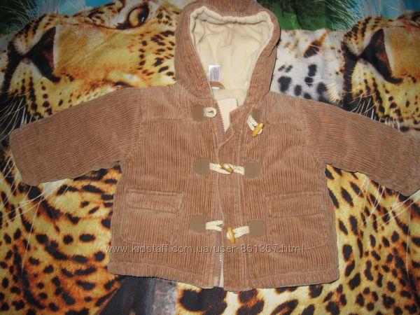 Продам очень тёплую курточку BABY CLUB
