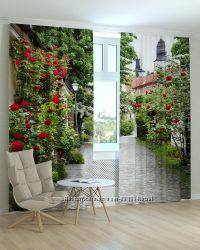 Шторы Фотошторы Цветы от компании Svit kulumiv