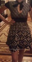 Платье в оригинальных ромбах, Motivi