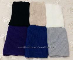 Вязаный шарф-снуд, 6 цветов, новый