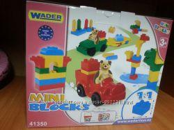Wader Конструктор Мини маленький 130 элементов
