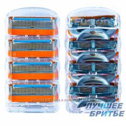 Сменные картриджи Gillette Fusion Power 4шт. без упаковки США Оригинал