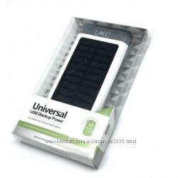 Портативное зарядное устройство Power Bank UKC 15000 mah SolarLed