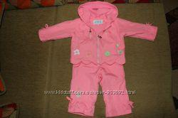 Демисезонный костюм куртка Kiko на девочку р. 74