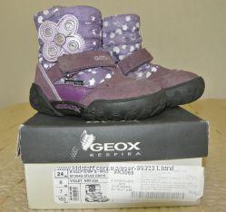 Мембранные с системой GeoxTex зимние ботинки Geox, 24 размер