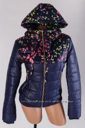 Женская демисезонная куртка, размер 42-50