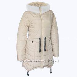 Женские куртки зима 42-50, идеальная посадка