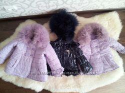 курточки для дівчинки фірми FUN&FUN