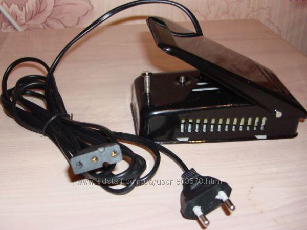 Педаль для электроприводов швейных машин и оверлоков