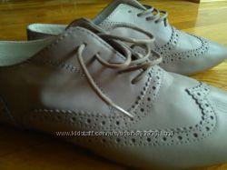 новые туфельки Италия, полностью кожа, 26см
