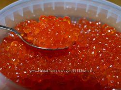 Красная икра малосольная свежая натуральная. 500 грамм и 1кг.