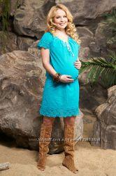 Платье туника Мадерна радуга цветов для беременных и кормящих Бамбиномания