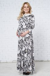 Платье Валенсия и Валенсия-1 для беременных и кормящих Бамбиномания